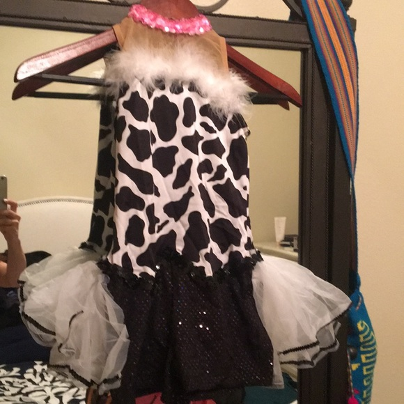 Little cow Dance costume